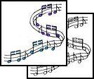 music-note Tattoos, musicnote Tattoos, music Tattoos, note Tattoos, music Tattoos, musical Tattoos,