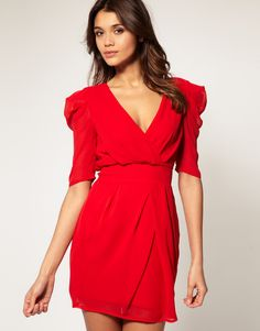 valentine's day dress, maybe?