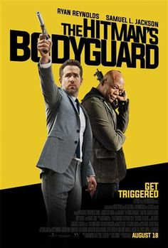 The Hitman's Bodyguard (2017) ... Michael Bryce (Ryan Reynolds) was once a Triple A-rated executive protection agent, but his credibility took a dive when he lost a client to a sniper. He's coerced by his ex-gf, Interpol agent Amelia Roussel (Elodie Yung) to deliver the world's most wanted hitman, Darius Kincaid (Samuel L. Jackson), to the International Court of Justice in The Hague to testify against cruel dictator Vladislav Dukhovich (Gary Oldman). (16-Aug-2017) w/Glen & the Kongs