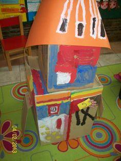 Cardboard space craft!