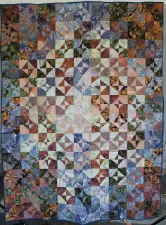 The unnamed first quilt by domesticat on Flickr.