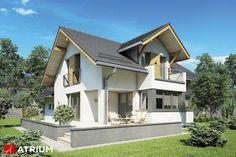 Projekt Muscat - elewacja domu