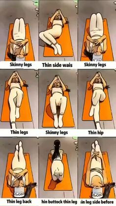Slim Waist Workout, Full Body Gym Workout, Gym Workout Tips, Gym Workout For Beginners, Butt Workout, Workout Videos, Inner Thight Workout, Couch Workout, Beginners Cardio