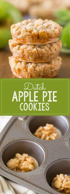 nice Dutch Apple Pie Cookies - Lovely Little Kitchen