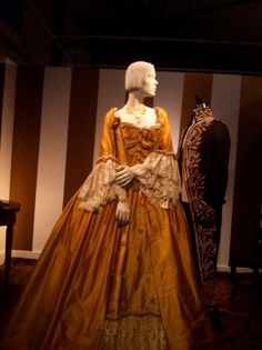 "The Napa Valley Museum rented mannequins from Mannequin Madness to display gowns from the SF Opera for the exhibit ""Mozart's Muses."""