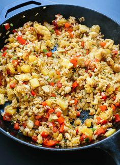 How to make Thai pineapple fried rice (it's amazing!) - cookieandkate.com