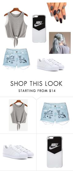 """""""Untitled #5"""" by ajlamaca ❤ liked on Polyvore featuring Aloha From Deer, adidas and NIKE"""