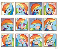 Commission RD expressions by HowXu on DeviantArt How To Do Drawing, Drawing Tips, Mlp Twilight, Hasbro My Little Pony, Mlp Fan Art, Mlp Comics, Little Poney, Eyes On The Prize, Mlp Pony