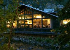 Estes Park In Winter | Estes Park Colorado: Nicky's Steakhouse