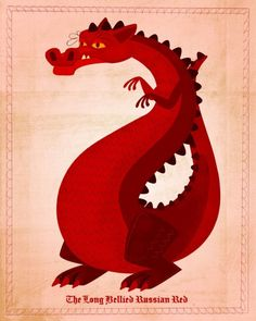 Poster for Mr. Z. We have a thing for Red Dragons in this house.