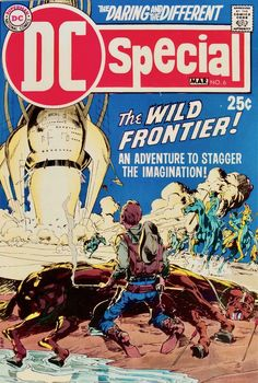 Neal Adams did wonderful cover work for DC,but this is lesser known than most of his work. DC Special Fn/Vf March 1970 DC by RubbersuitStudios Dc Comic Books, Vintage Comic Books, Comic Book Artists, Comic Book Covers, Vintage Comics, Comic Artist, Dc Comics, Comics For Sale, Joe Kubert