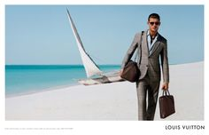 Campaign, Louis Vuitton men SS 2013 Art direction Magnus Naddermier Jacey photographed by Alasdair McLellan on Mnemba Island, Zanzibar. Styling by Katy England.