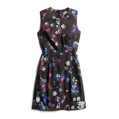 Stitch Fix Fall Stylist Picks: Black Floral Dress