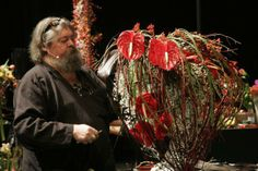 Floral designer Peter Hess (Swiss)