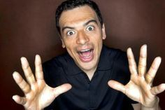 Look at all the people who pay me money to make them laugh! Carlos Mencia, My Money, Peace, How To Make, World
