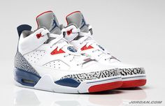 "Releasing Tomorrow: Air Jordan Son of Mars ""True Blue""."
