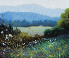 Elizabeth Mowry, author of Landscape Painting in Pastel, discusses pastel drawing and painting with this inspiring advice.
