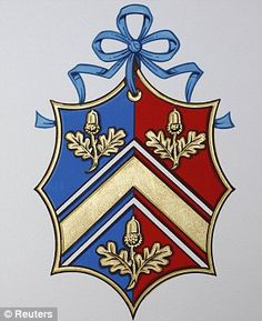 Middleton Family's new coat of arms - like the simplicity