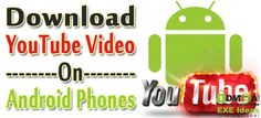 How To Download YouTube Video From Android Mobiles?  If You Have An #Android #Mobile(#SmartPhone) And Want To #Download #YouTube #Videos Directly From YouTube Then You Can Download It Freely Through This Tutorial. Follow This And Download Videos To Android #Phone Now.  #Tutorial: www.exeideas.com/2013/09/download-youtube-video-in-android.html