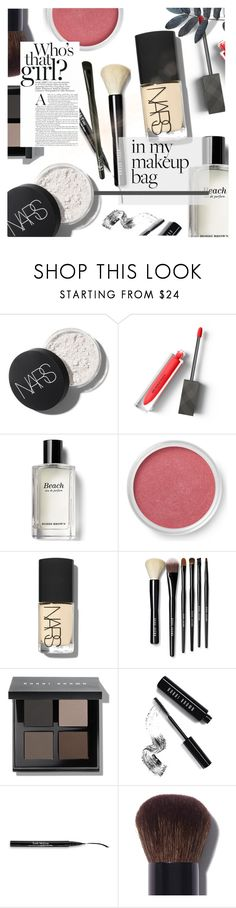 """""""IN MY MAKE UP BAG"""" by hallode ❤ liked on Polyvore featuring beauty, Burberry, Bobbi Brown Cosmetics, Bare Escentuals, Trish McEvoy and Chanel"""