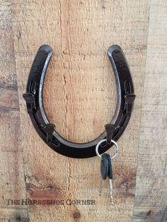 Horseshoe Key Holder Rustic Key Holder Horseshoe Decor