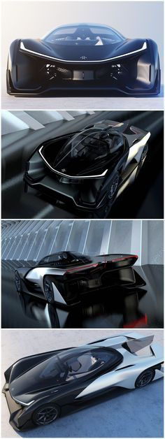 Faraday Future Concept Car; FFZERO
