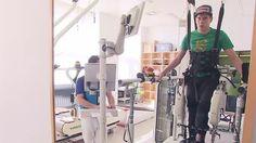 Horror-Sturz beim Skifliegen: Müller macht erste Schritte nach Querschnittslähmung
