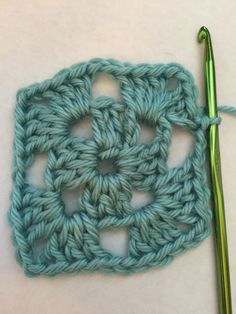 How to Crochet a Granny Square: Round Two