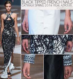 #catwalknails #spring2014nails #nyfw
