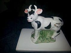 Vintage cow figurine