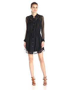 Bailey 44 Women's Cher Lace Long Sleeve Shirt Dress, Navy, X-Small Bailey 44 http://www.amazon.com/dp/B00PZENQWU/ref=cm_sw_r_pi_dp_tW4Zvb1ZF3FEY