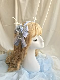 Imagine & Spectacle -The Mysterious Deer Under The Moonlight- Lolita Accessories,Lolita Accessories, Kawaii Accessories, Hair Accessories, Cosplay Style, Manga Hair, Anime Wigs, Japanese Street Fashion, Steampunk Clothing, Other Outfits, Lolita Dress
