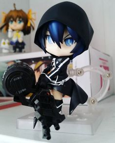 Quick photo of BRS. She's a tad bit fiddly to put together but she's so beautiful  #blackrockshooter #brs #nendoroid #goodsmilecompany by nendo_ghost http://ift.tt/1MhnhJo