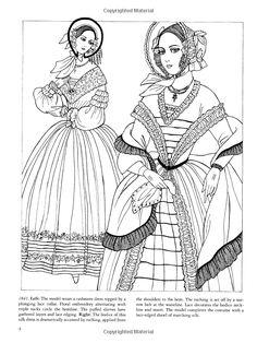 Godey's Fashions Coloring Book (Dover Fashion Coloring Book): Ming-Ju Sun: 9780486439983: Amazon.com: Books