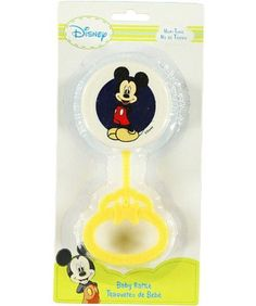 Disney Baby Hand Rattle  Mickey Mouse  navy one size ** Check this awesome product by going to the link at the image.