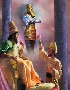 Daniel Chapter 2 Video Commentary Nebuchadnezzar's Dream, verse by verse video commentary on bible prophecy. New Testament Books, Old Testament, Bible Illustrations, Bible Pictures, Religious Pictures, Biblical Art, Bible Truth, Bible Stories, Bible Lessons