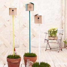 Birds House Anni Ei Turquoise//