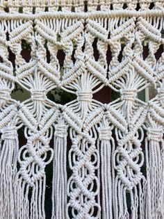 Macrame Wall Hanging Macrame Home Decor Wall by MacrameElegance
