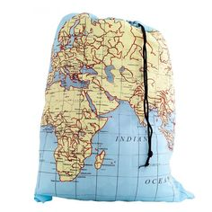 World map childrens umbrella vintage globe and free uk world map travel laundry bag gumiabroncs Gallery