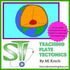 Teaching Plate Tectonics by MJ Krech