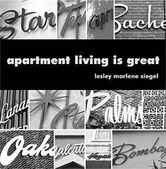 "Logos for 1950s/1960s ""Dingbat"" apartment complexes. Nostaglia in the Vesta and Asteria logos here in Boston?"