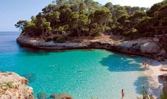 Playas en Menorca. España