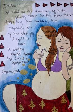 beautiful Doula art