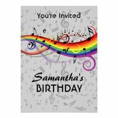 Printable music birthday party invitation music party singing music notes party ideas party music theme birthday party ideas free birthday filmwisefo