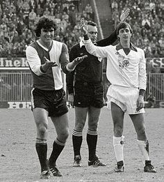 Van Hanegem and Cruyff