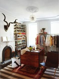 someday i will have a closet just like this!
