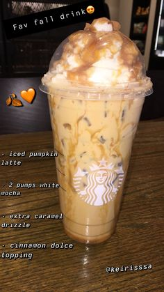 """Starbucks """"Cinderella Latte"""" Made this today and it's my favorite drink at. - Starbucks """"Cinderella Latte"""" Made this today and it's my favorite drink atm - Starbucks Hacks, Secret Starbucks Recipes, Bebidas Do Starbucks, Starbucks Secret Menu Drinks, Starbucks Drinks Coffee, Healthy Starbucks Drinks, Starbucks Frappuccino, How To Order Starbucks, Smoothie Drinks"""