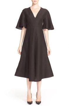 Vika+Gazinskaya+Silk+&+Cashmere+Dress+available+at+#Nordstrom
