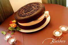 Oreo cookie Groom's cake  www.susanblackburn.biz