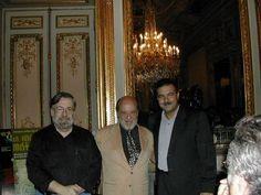 Tres grandes juntos, que gran fotografía, Narciso Ibáñez Serrador, Jiménez del Oso y Juan Antonio Cebrián...